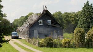 Afbeelding Huis stort in